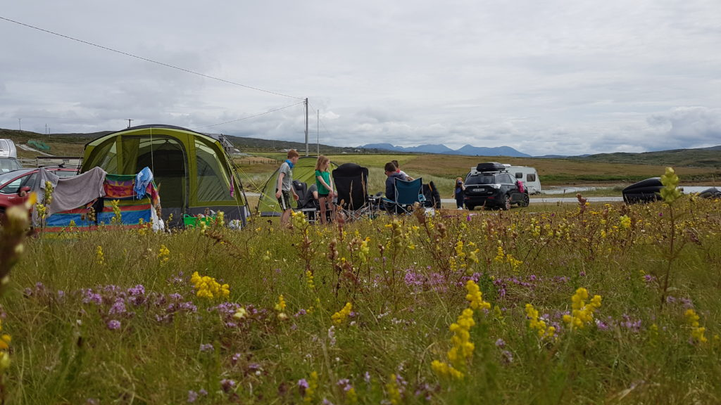 eco camping clifden camp site