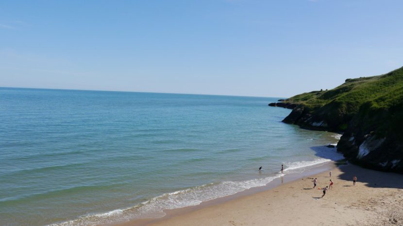 silver strand wicklow camping caravanning