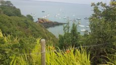 Dunmore East sailing boats