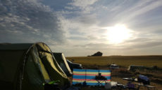 free camping curracloe camp site wexford