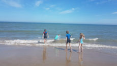 swimming curracloe beach